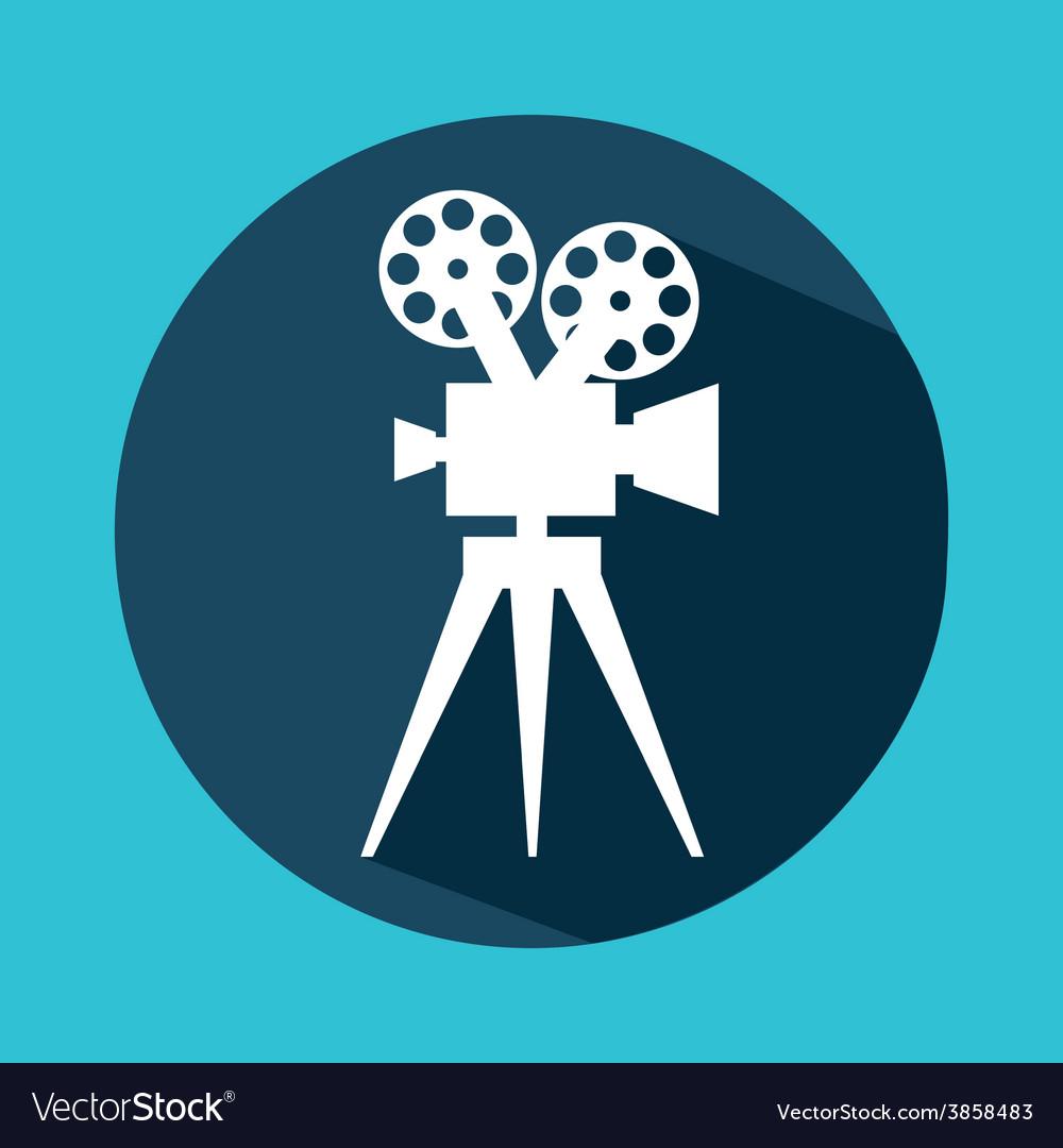 Cinema icon vector   Price: 1 Credit (USD $1)