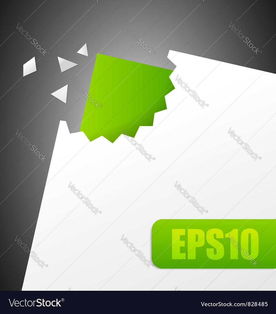 Paper cut vector | Price: 1 Credit (USD $1)