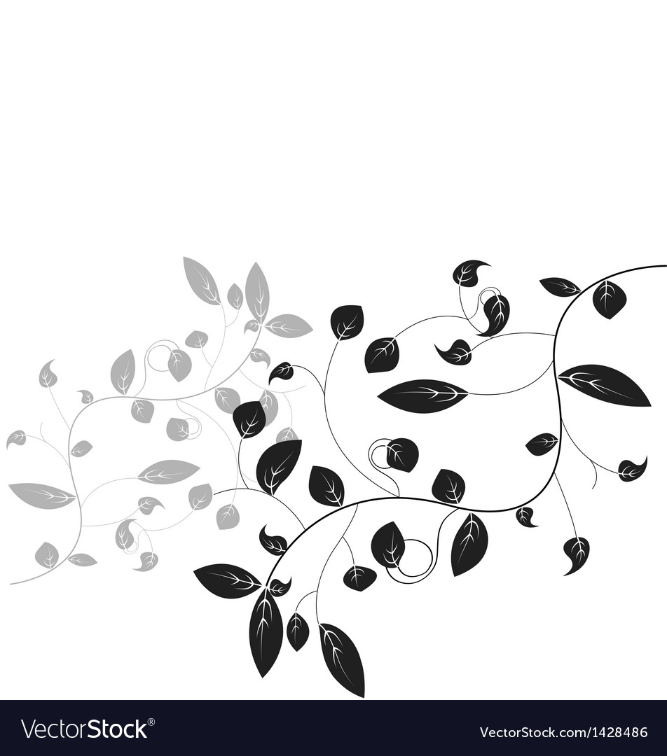 Leaf floral vector | Price: 1 Credit (USD $1)