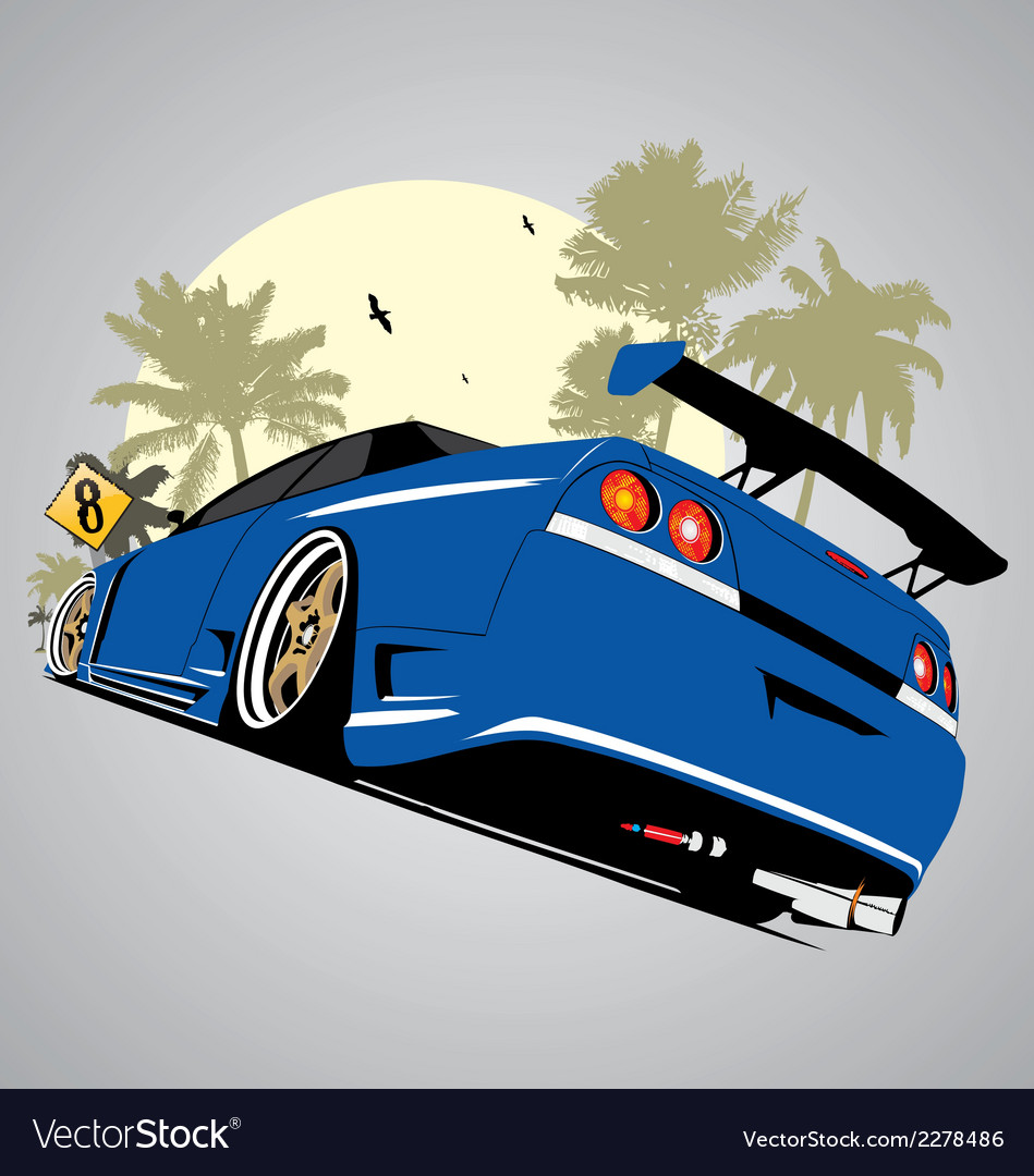 Sky line vector | Price: 1 Credit (USD $1)