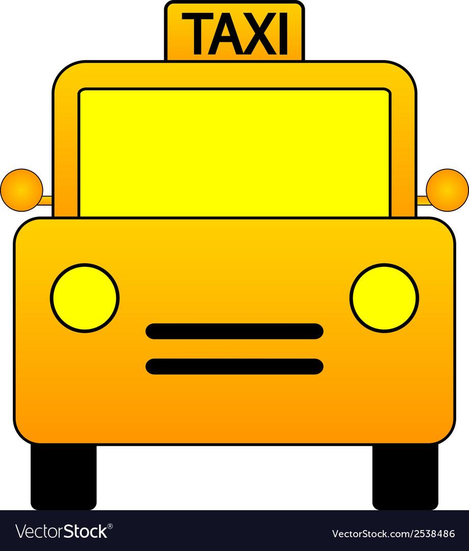 Taxi car icon vector   Price: 1 Credit (USD $1)