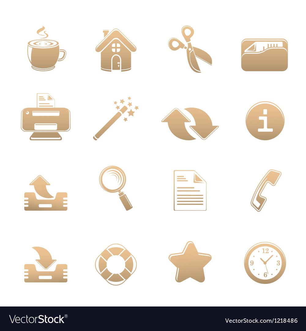 Universal set of icons one vector | Price: 1 Credit (USD $1)