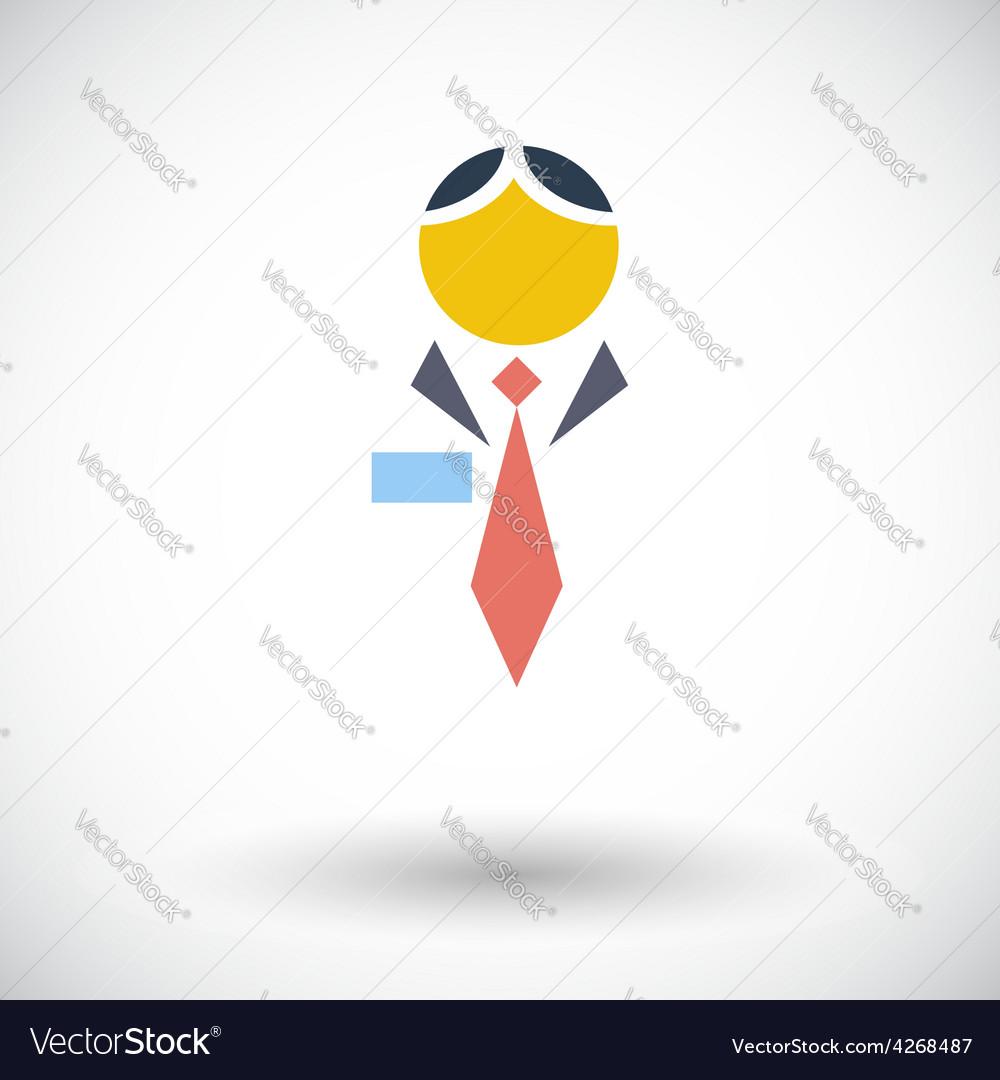 Human icon vector | Price: 1 Credit (USD $1)