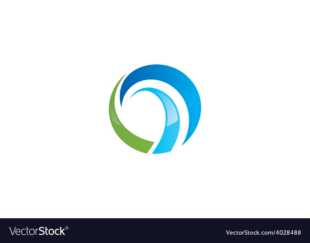 Abstract business round swirl logo vector   Price: 1 Credit (USD $1)
