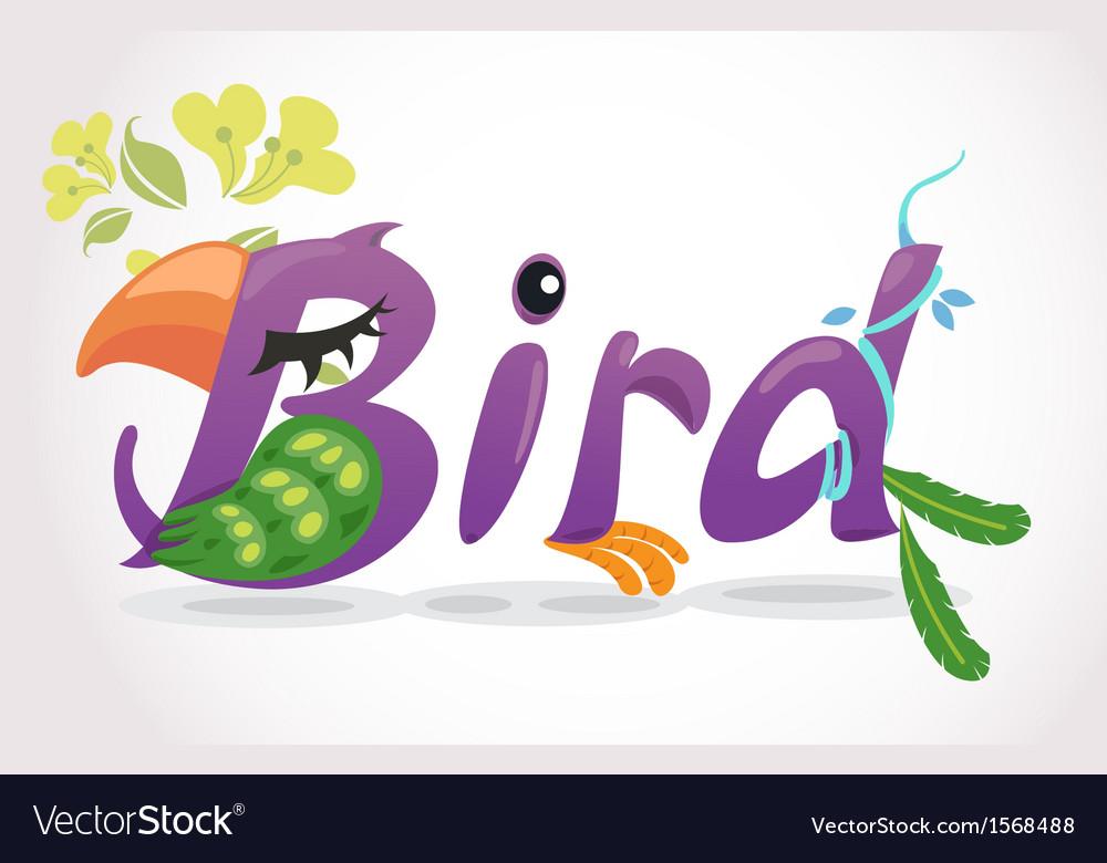 Bird2 vector | Price: 1 Credit (USD $1)