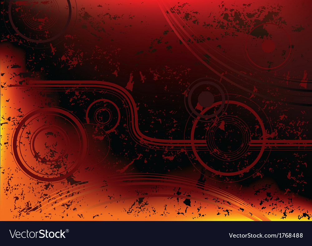 Burning grunge abstraction vector | Price: 1 Credit (USD $1)