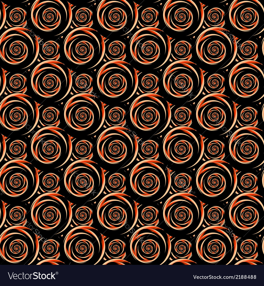 Design seamless colorful decorative spiral pattern vector | Price: 1 Credit (USD $1)