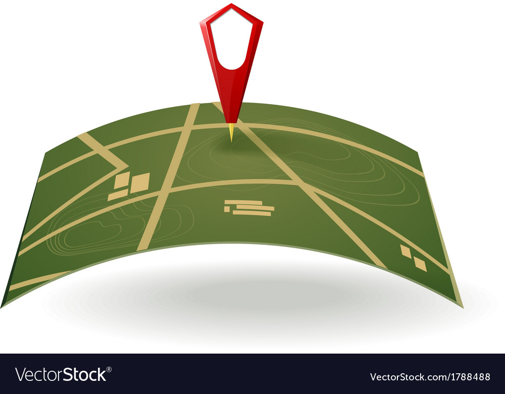 Street map vector | Price: 1 Credit (USD $1)