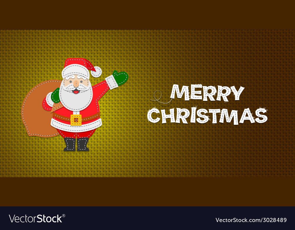 Christmas santa claus vector | Price: 1 Credit (USD $1)