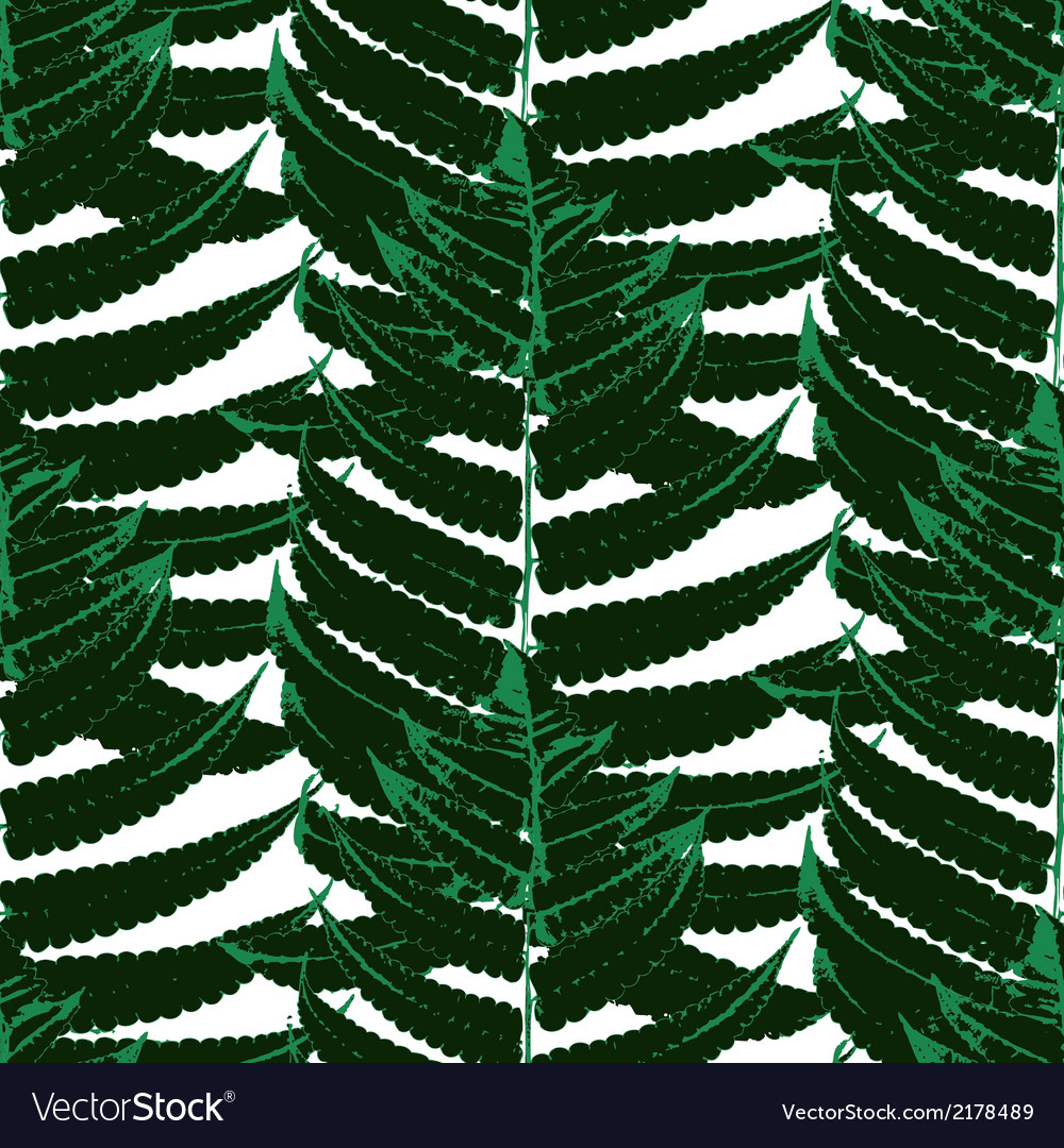 Pattern with leaves of tropical plants vector | Price: 1 Credit (USD $1)