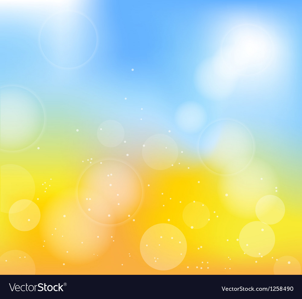 Summer blue back vector | Price: 1 Credit (USD $1)