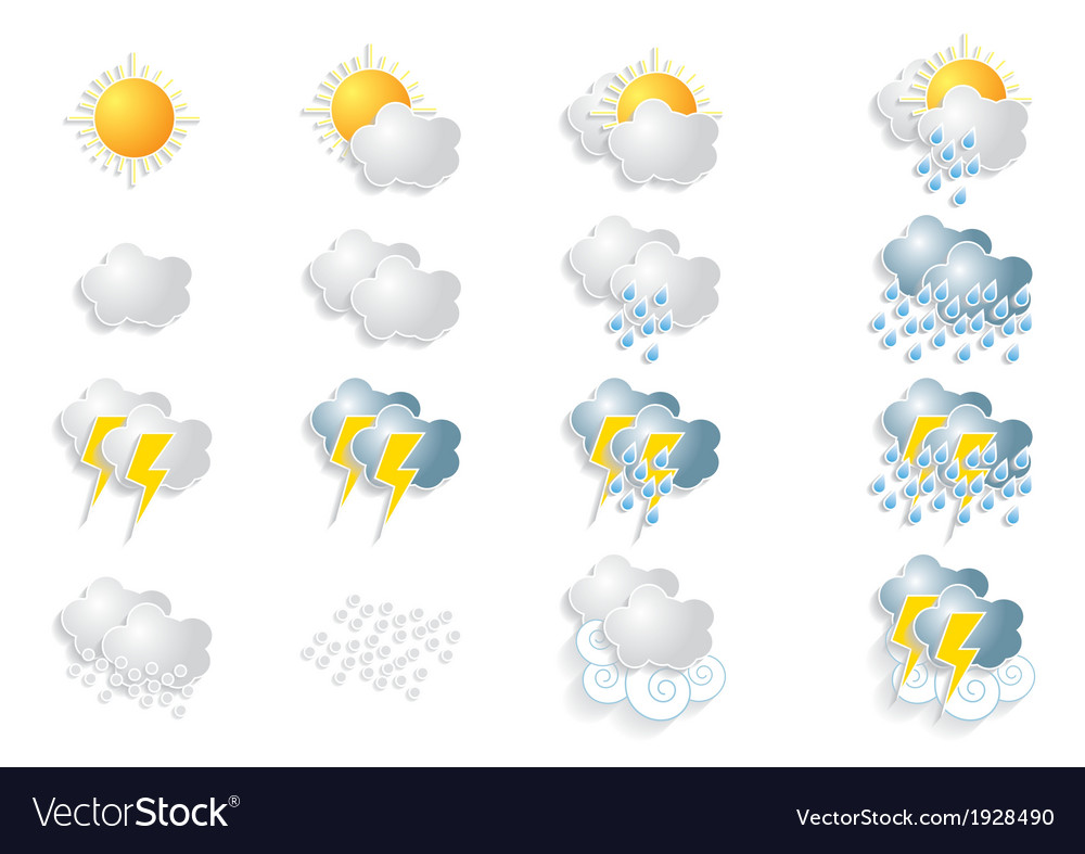 Weather vector | Price: 1 Credit (USD $1)
