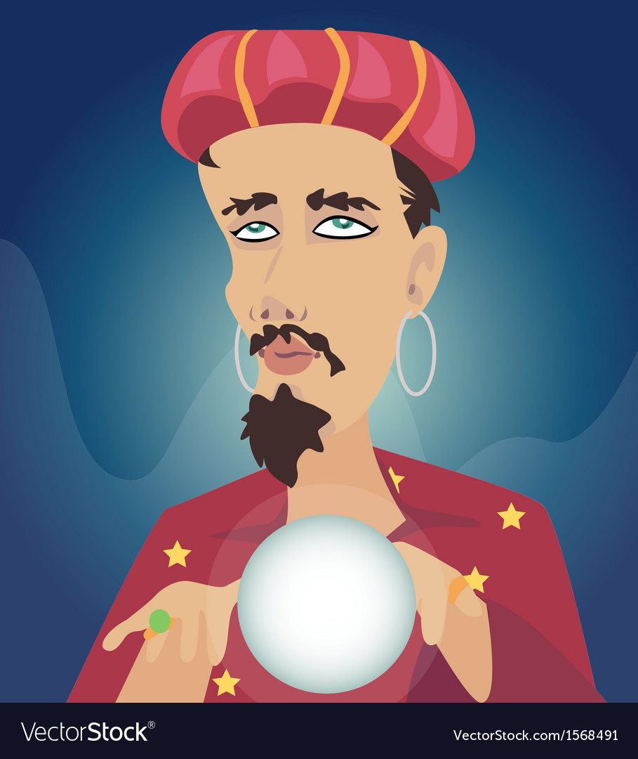 Fortune teller m vector | Price: 1 Credit (USD $1)