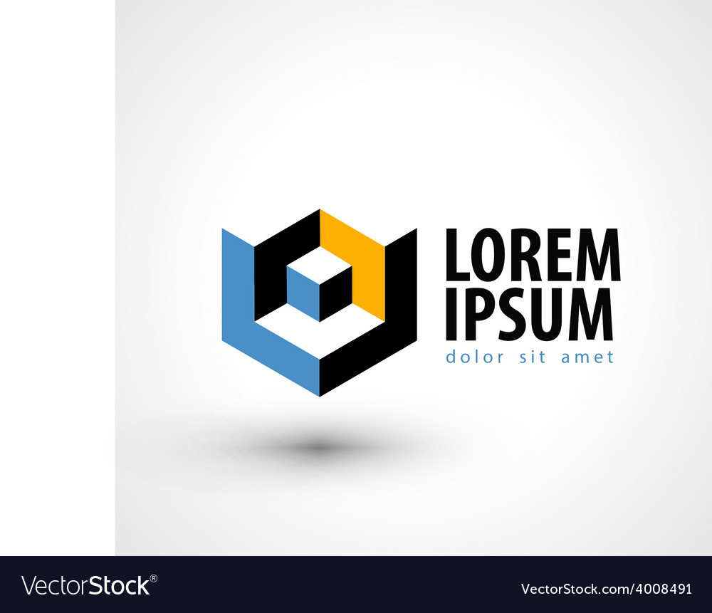 Production logo design template busines or vector | Price: 1 Credit (USD $1)