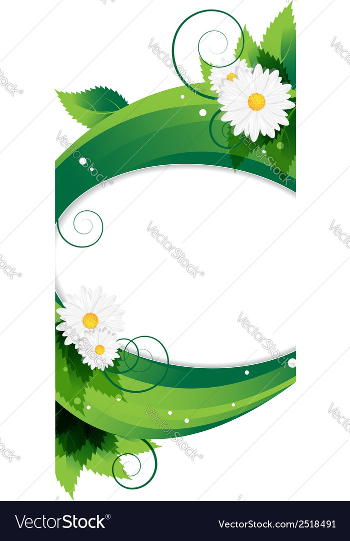Wildflowers background vector | Price: 1 Credit (USD $1)
