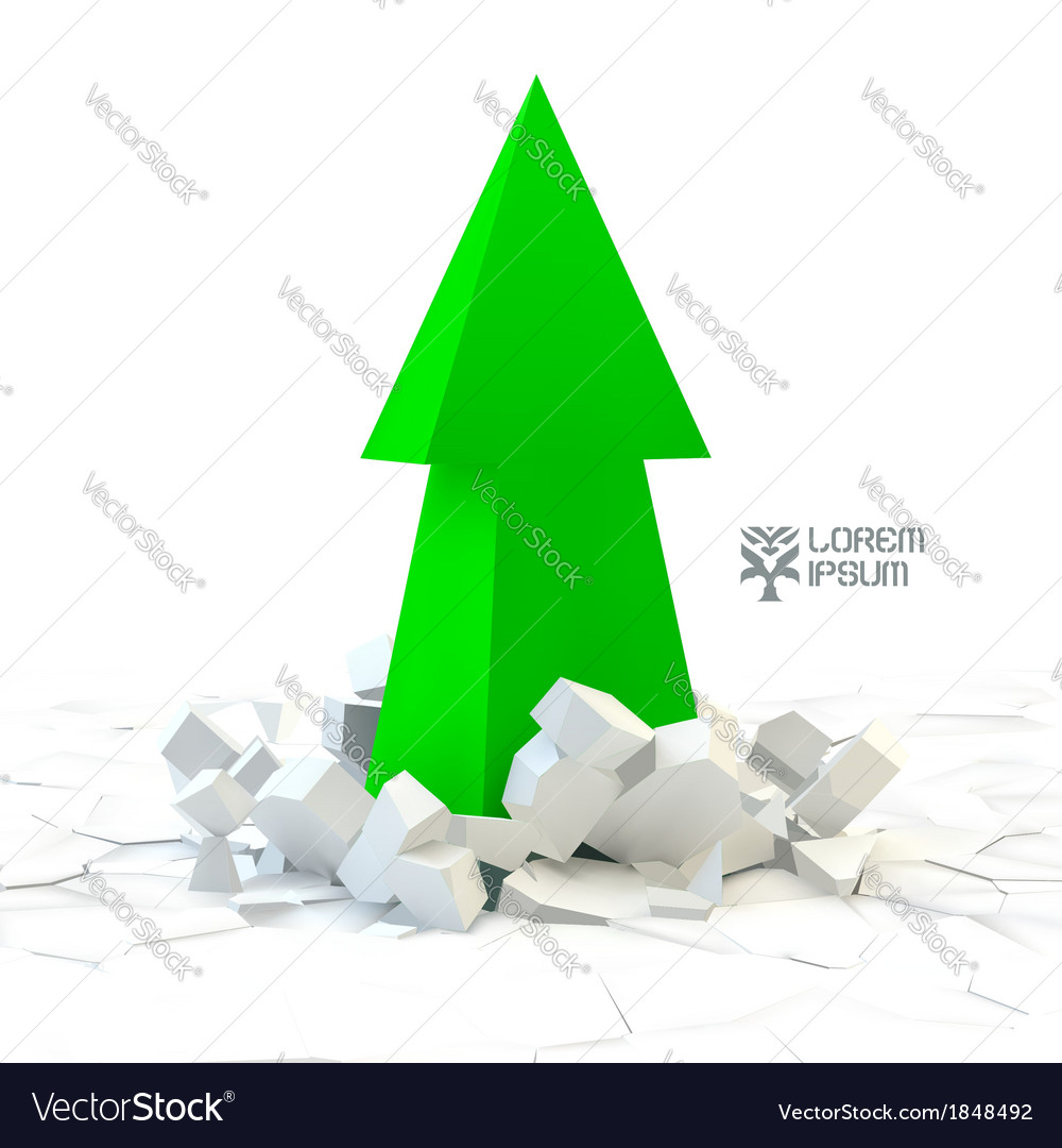 3d arrow vector | Price: 1 Credit (USD $1)