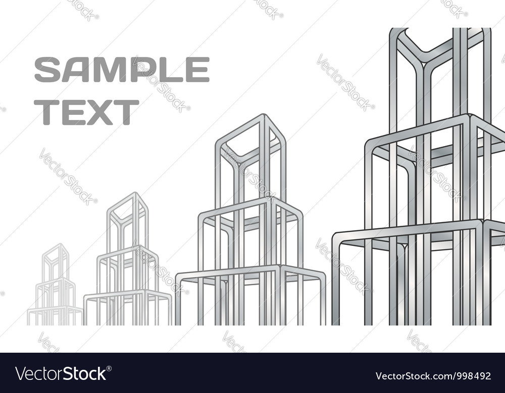 Abstract constructions background vector | Price: 1 Credit (USD $1)
