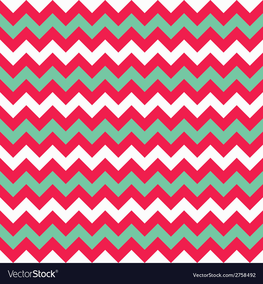 Chevron seamless pattern in flat style vector | Price: 1 Credit (USD $1)