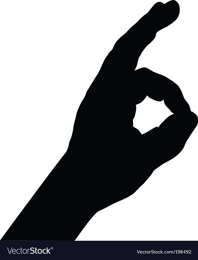 Finger signs vector | Price: 1 Credit (USD $1)