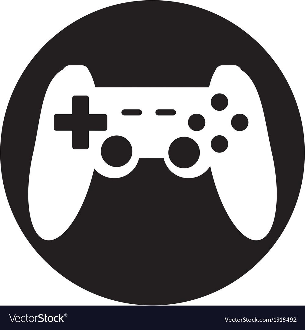 Game joypad icon vector | Price: 1 Credit (USD $1)