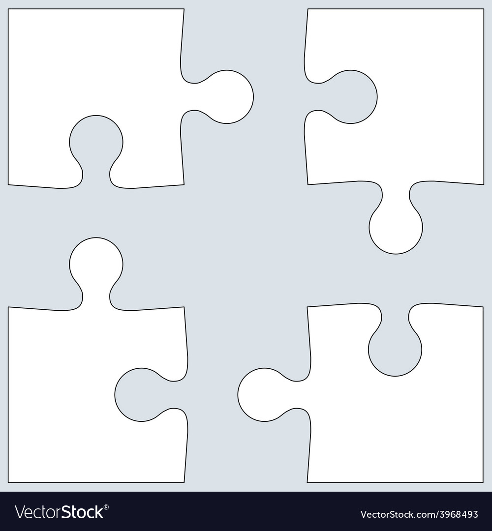 Background jigsaw puzzle vector | Price: 1 Credit (USD $1)