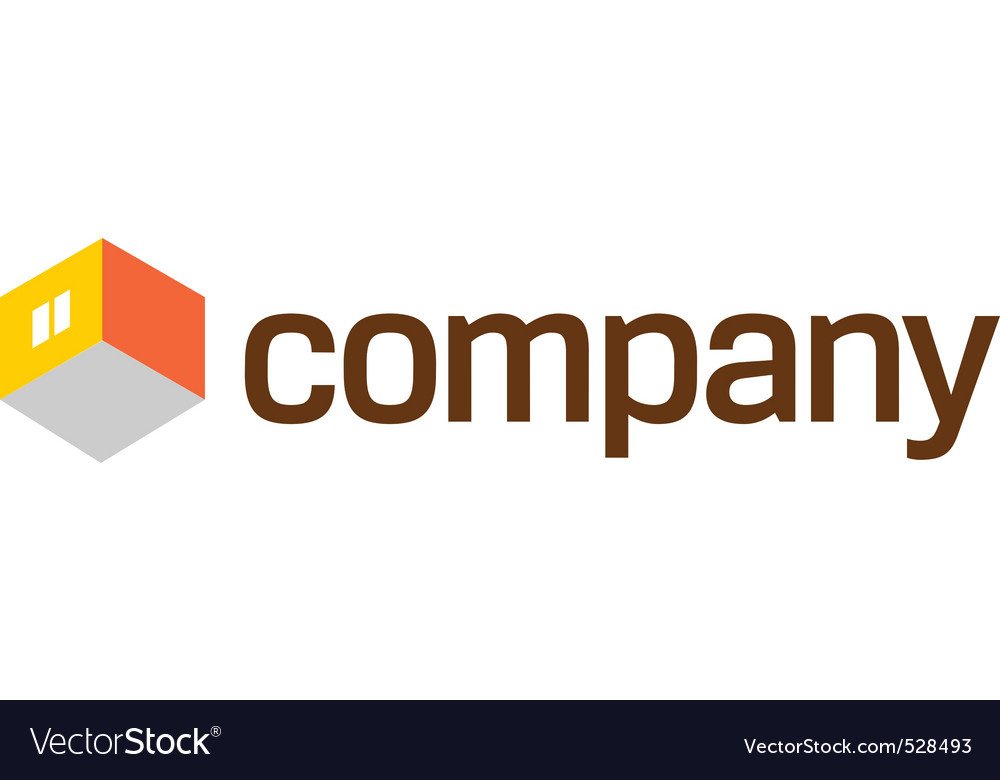 Home furniture company logo vector | Price: 1 Credit (USD $1)
