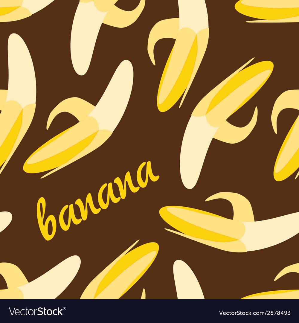 Seamless banana pattern vector   Price: 1 Credit (USD $1)