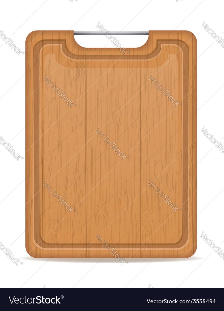 Cutting board 06 vector | Price: 1 Credit (USD $1)