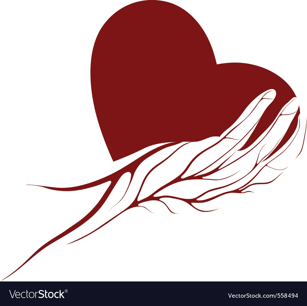 Heart logo vector | Price: 1 Credit (USD $1)