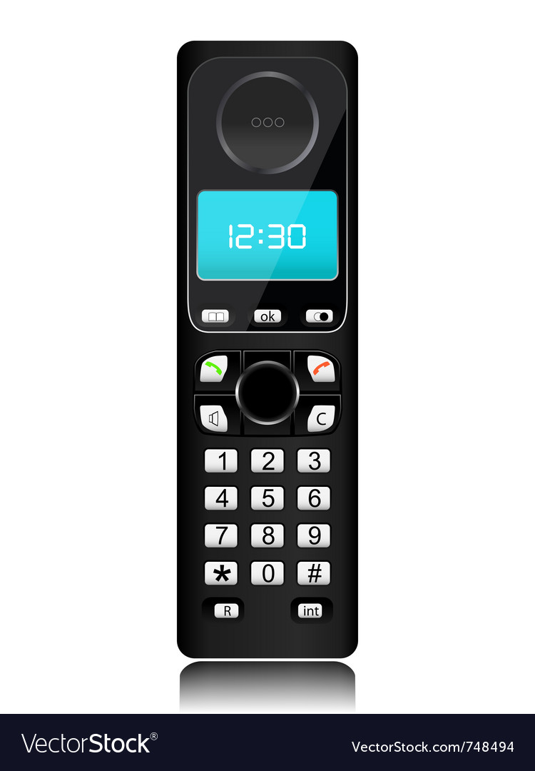Telephone vector | Price: 1 Credit (USD $1)
