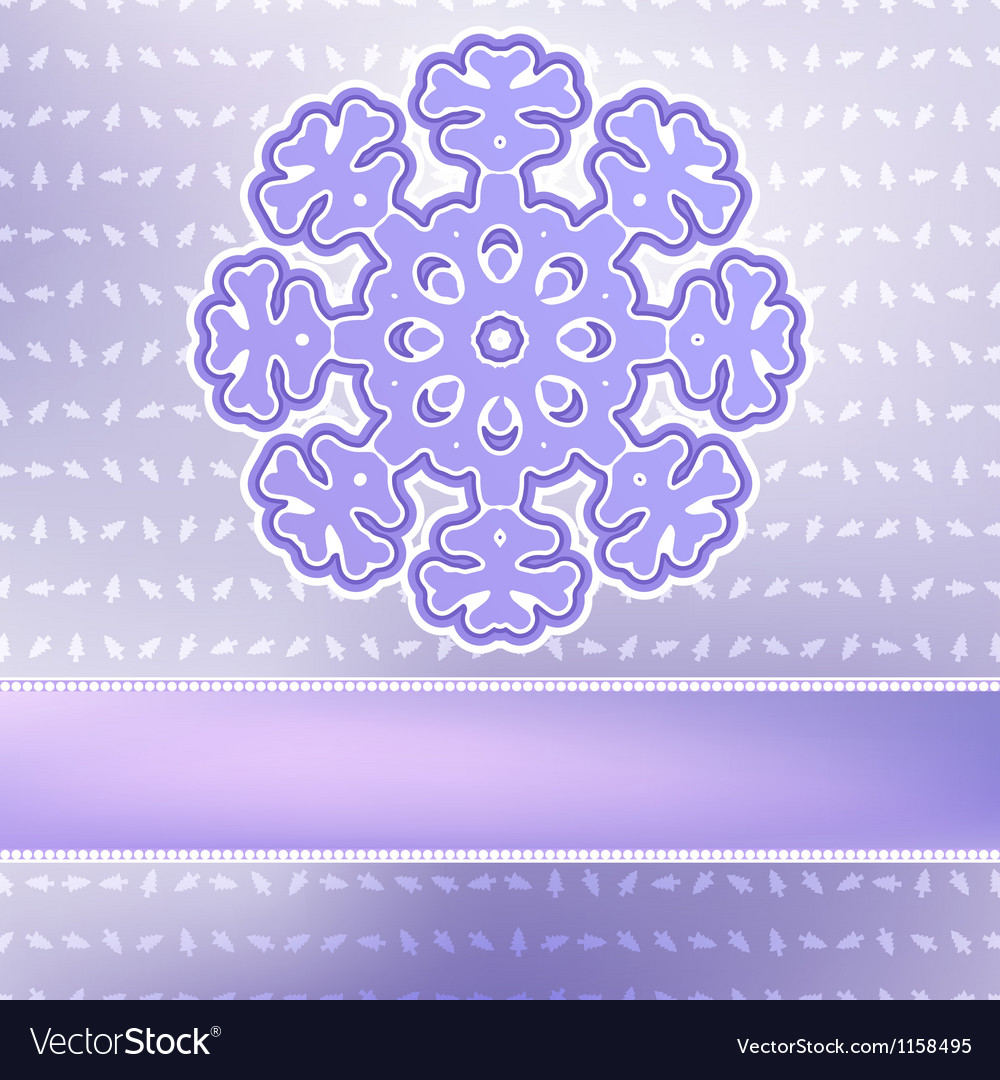 Christmas snowflake on red purple   eps8 vector | Price: 1 Credit (USD $1)