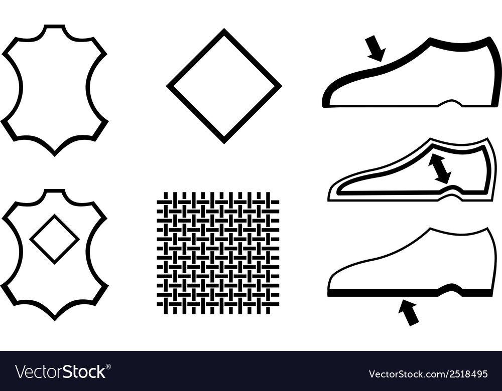 Shoes symbol vector | Price: 1 Credit (USD $1)