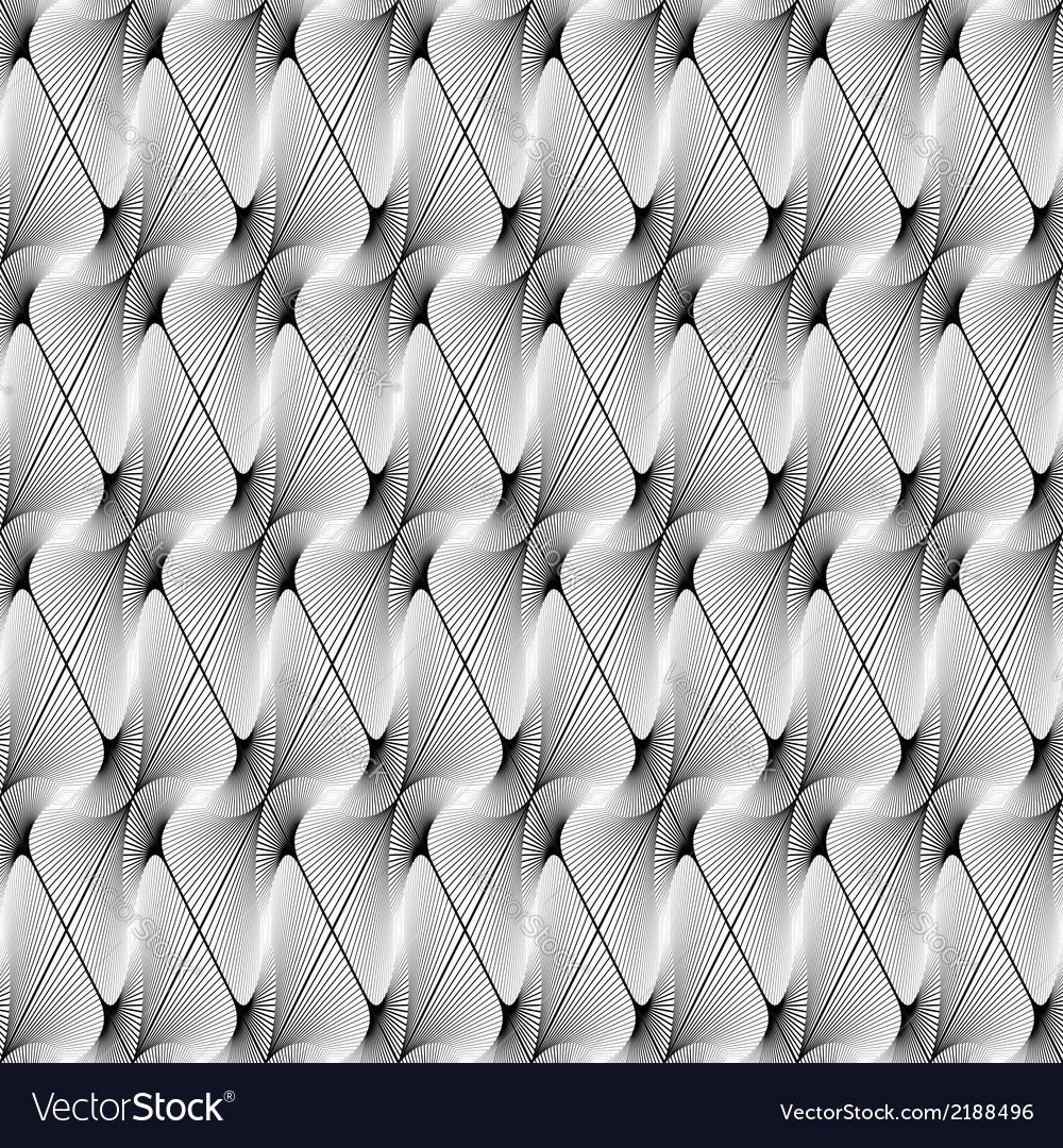 Design seamless striped decorative pattern vector | Price: 1 Credit (USD $1)