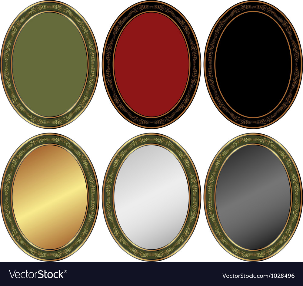 Oval backgrounds vector | Price: 1 Credit (USD $1)