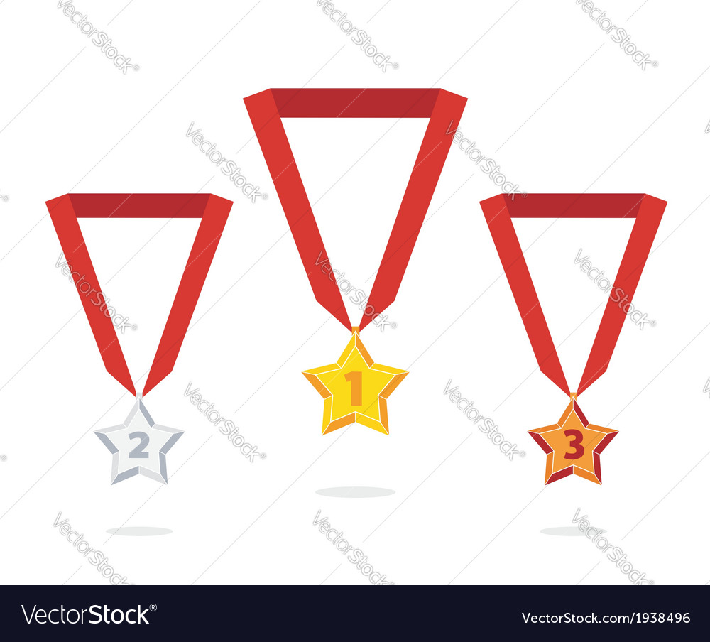 Star medal vector | Price: 1 Credit (USD $1)