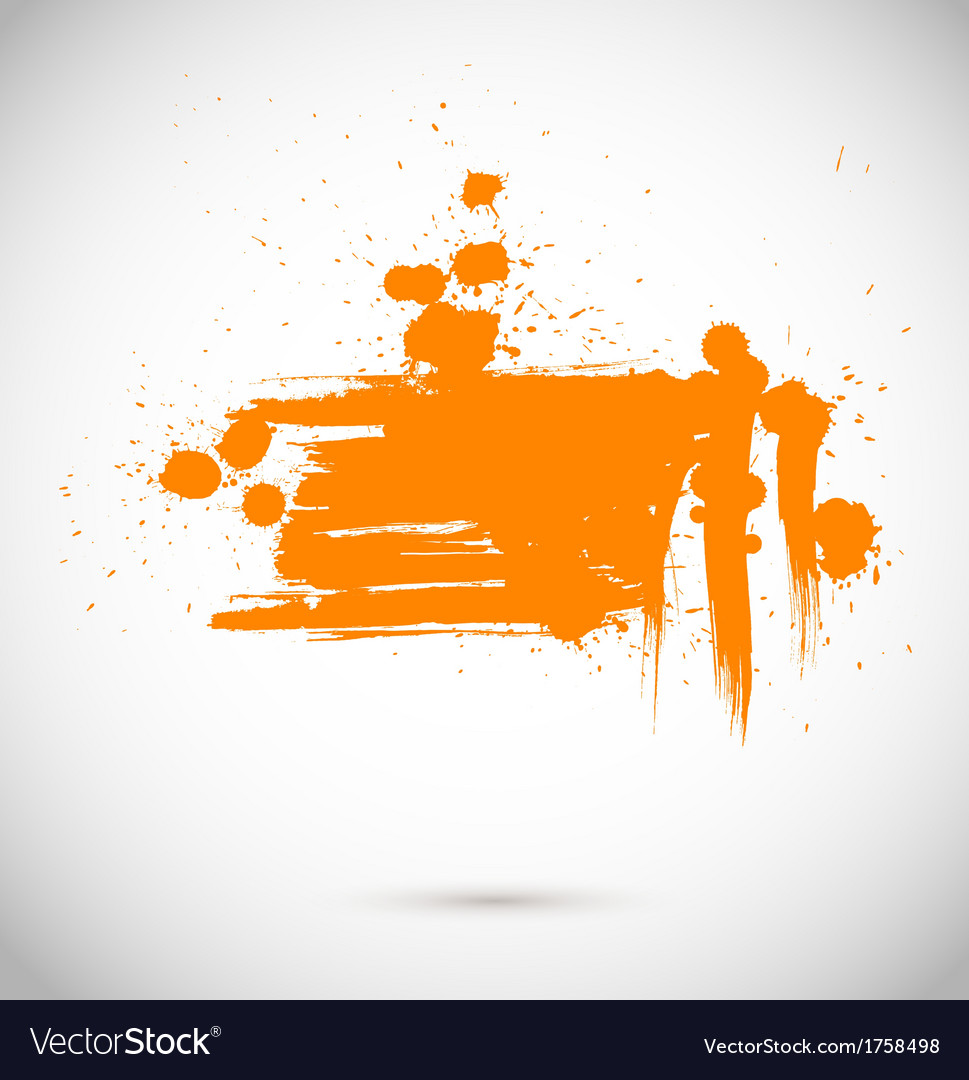 Abstract background grunge paint banner vector | Price: 1 Credit (USD $1)