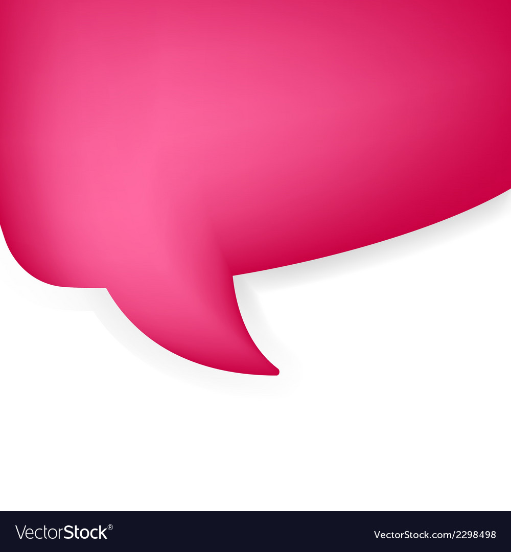 Abstract speech bubble  eps8 vector   Price: 1 Credit (USD $1)