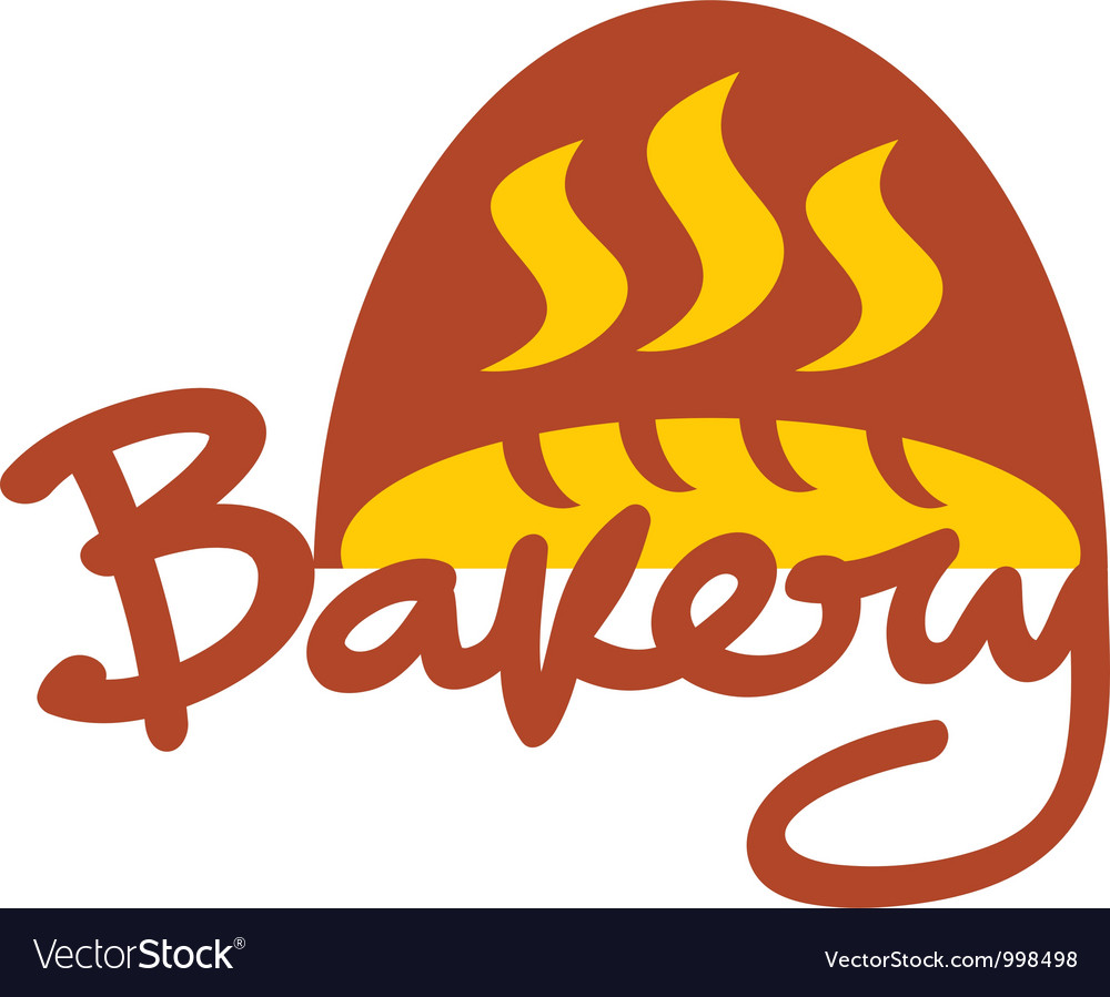 Bakery sign vector | Price: 1 Credit (USD $1)