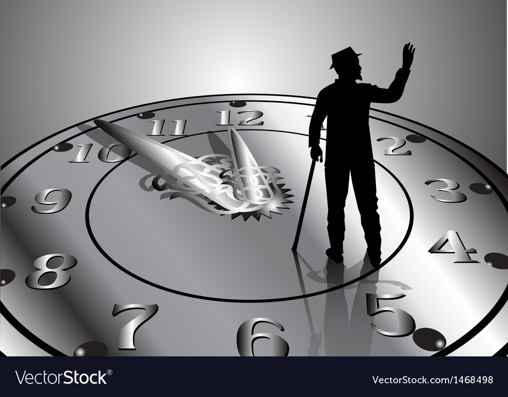 Time passes vector | Price: 1 Credit (USD $1)
