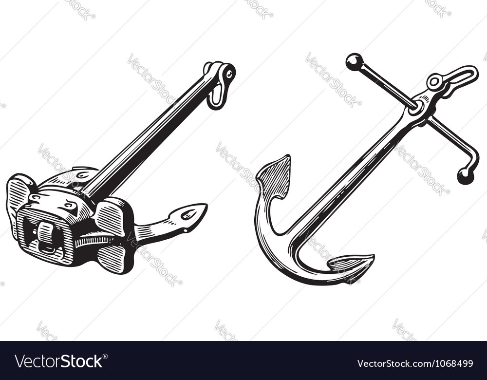Anchors vector | Price: 1 Credit (USD $1)