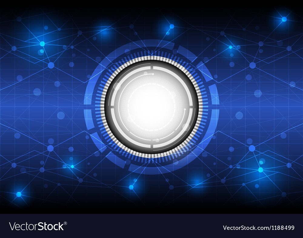 Future digital concept technology background vector | Price: 1 Credit (USD $1)