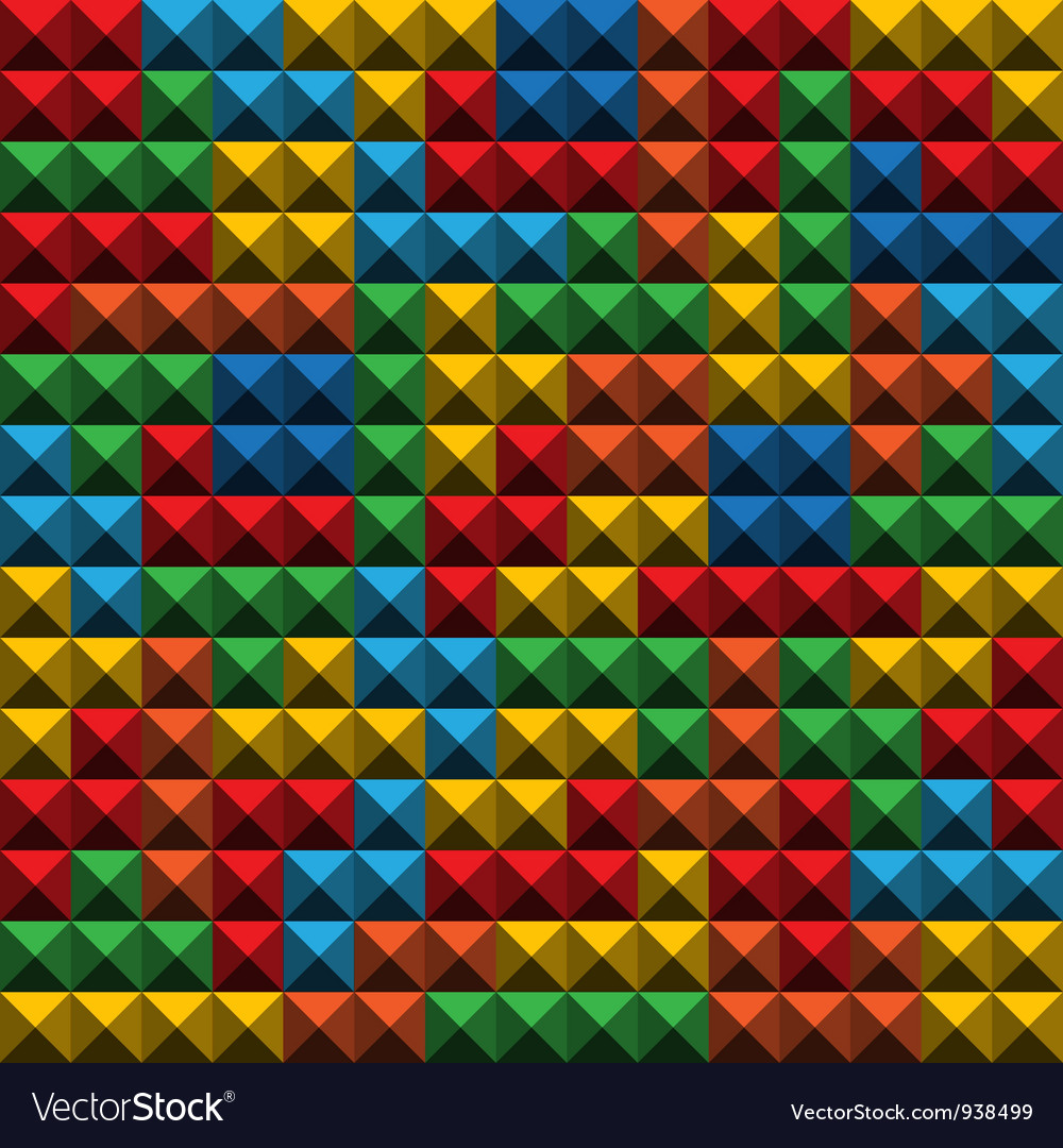 Tetris tiles background vector | Price: 1 Credit (USD $1)