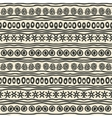 Hand drawing ethnic pattern vector
