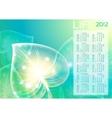 Abstraction leaf background 10 eps calendar 2012 vector