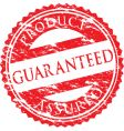 Guaranteed logo vector