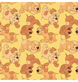 Funny cartoon puppies vector