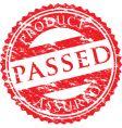 Passed logo vector