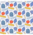 Seamless school pattern vector