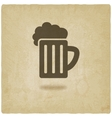 Pint old background vector