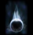 Dark planet vector